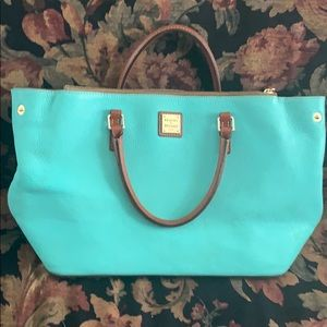 Turquoise Large Dooney& Bourke Bag
